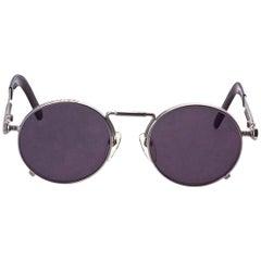 Jean Paul Gaultier 56-8171 Silver Sunglasses