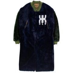"Jean Paul Gaultier AW1986 ""Russian Constructivist"" Fur Coat"