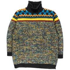 Jean Paul Gaultier AW1995 Multicolor Lurex Sweater