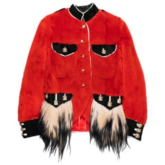 Jean Paul Gaultier AW1999 Mink Fur Napoleon Jacket