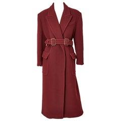 Jean Paul Gaultier Belted Oversize Coat