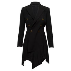 Jean Paul Gaultier Black Asymmetrical Blazer