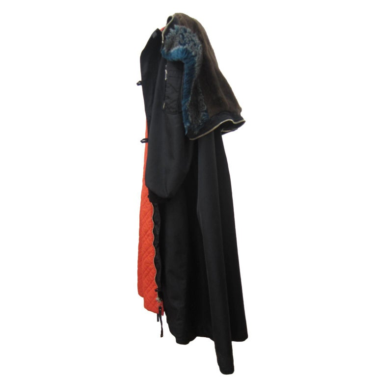 Women's Jean Paul Gaultier Black Bomber Jacket Coat 1980s For Sale