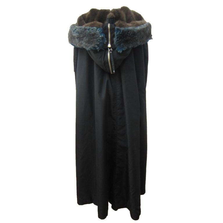 Jean Paul Gaultier Black Bomber Jacket Coat 1980s For Sale 3