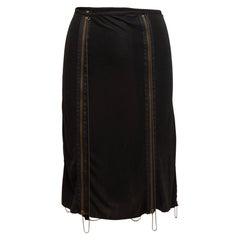 Jean Paul Gaultier Black Femme Zipper Skirt