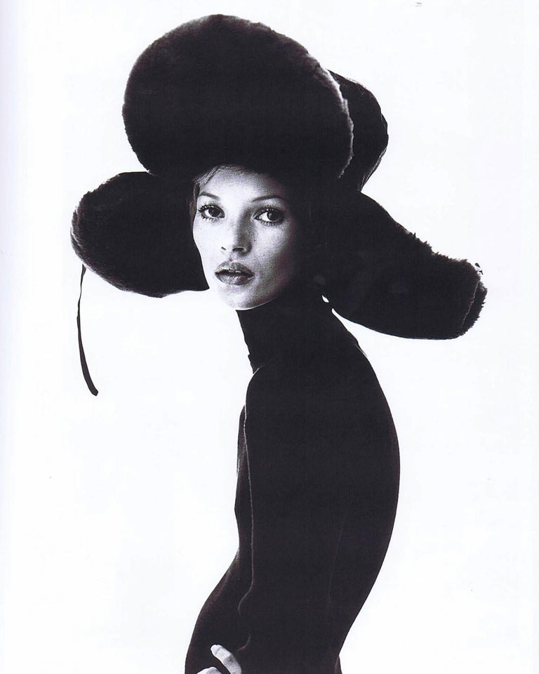 Jean Paul Gaultier black oversized puffer trapper hat, fw 1993 In Good Condition For Sale In London, GB