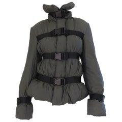 Jean Paul Gaultier Bondage Puff Jacket