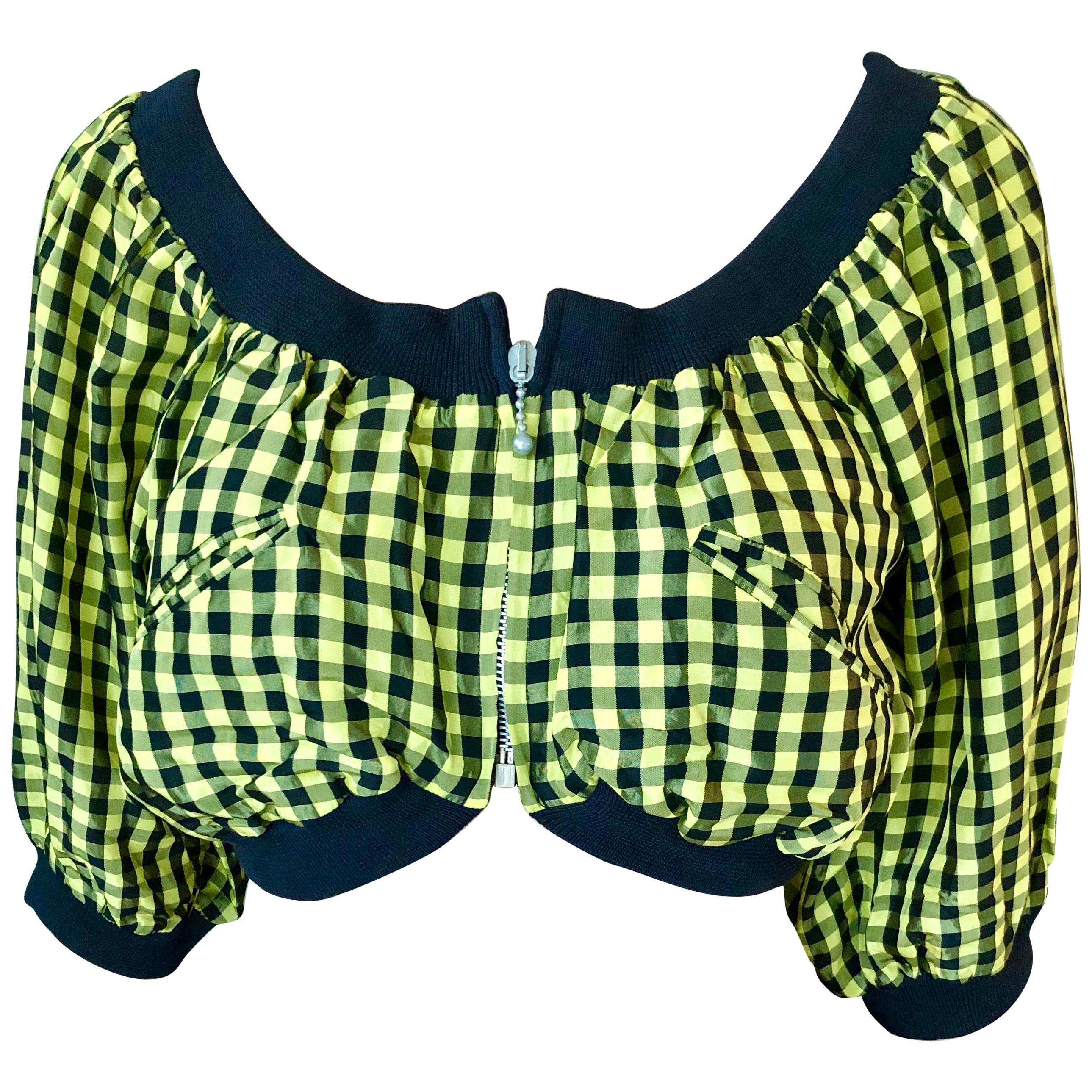 Jean Paul Gaultier c. 1980 Vintage Clueless Crop Top