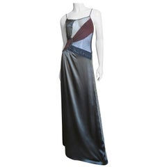 Jean Paul Gaultier Color Block Dress with Sheer Insets