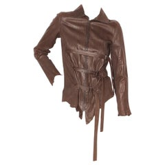 Jean Paul Gaultier Crinkle Leather Jacket