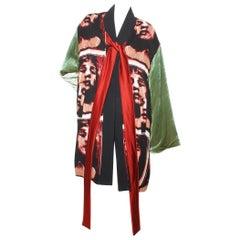 Jean Paul Gaultier Crisscross Puffer Robe
