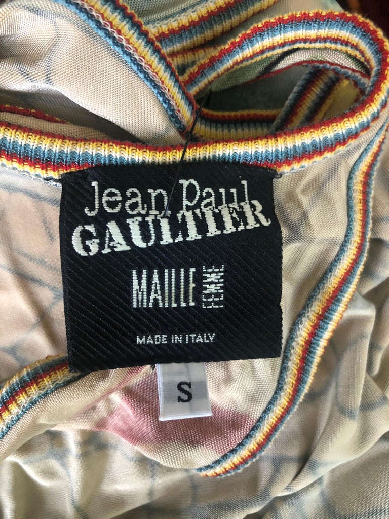 Jean Paul Gaultier Cutout Open Back Maxi Dress 1