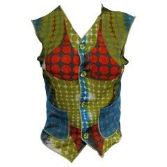 Jean Paul Gaultier Cyber Vest Top 1995AW