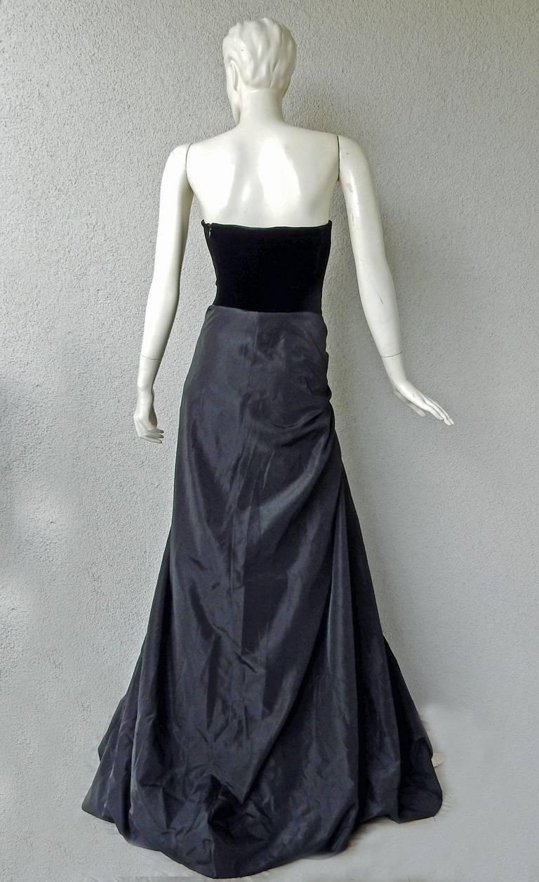 Jean Paul Gaultier Entrance Gown with Reversible Evening Coat In New never worn Condition For Sale In Los Angeles, CA