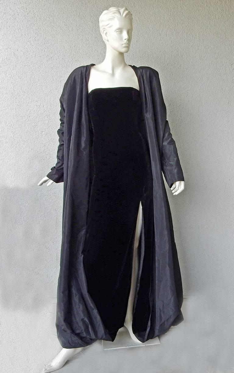 Women's  Jean Paul Gaultier Entrance Gown with Reversible Evening Coat For Sale