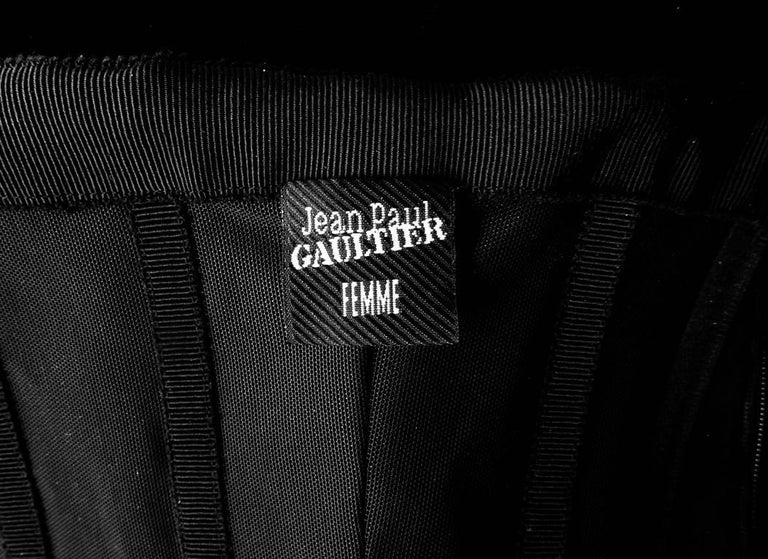 Jean Paul Gaultier Entrance Gown with Reversible Evening Coat For Sale 4