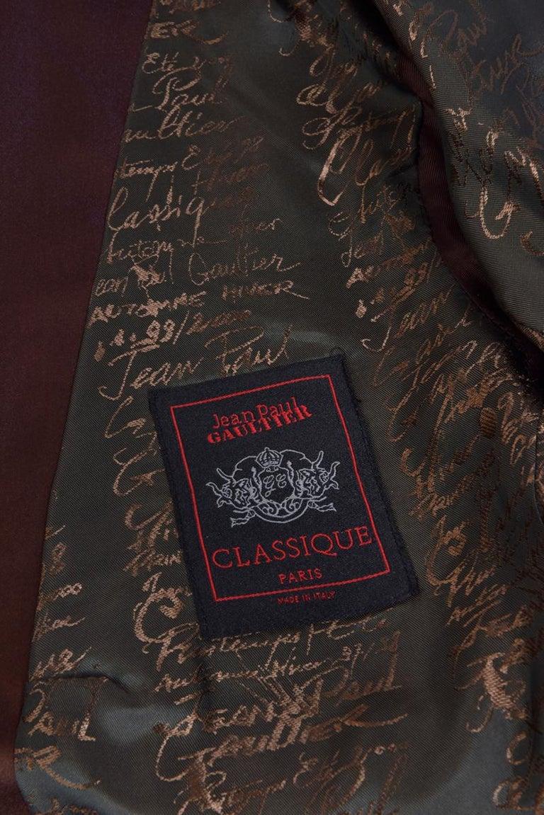 Jean Paul Gaultier Evening Blazer Jacket For Sale 12