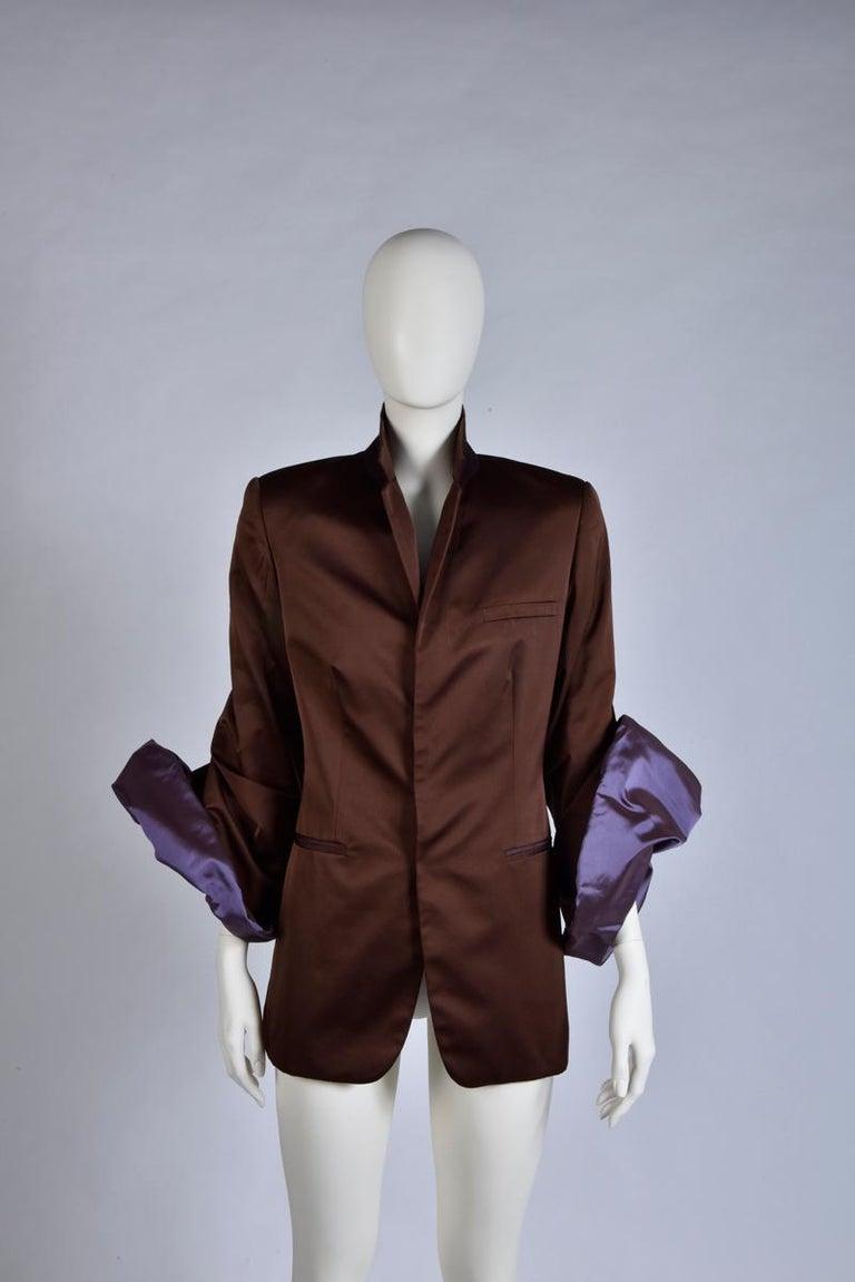 Black Jean Paul Gaultier Evening Blazer Jacket For Sale