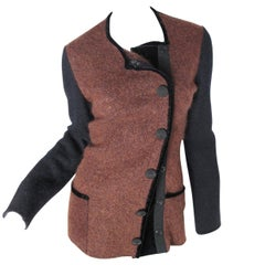Jean Paul Gaultier Felted Wool Jacket