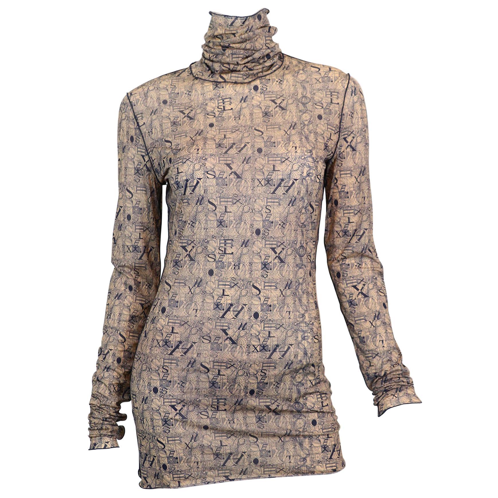 Jean Paul Gaultier Femme Explicit HOT SEX Top Dress