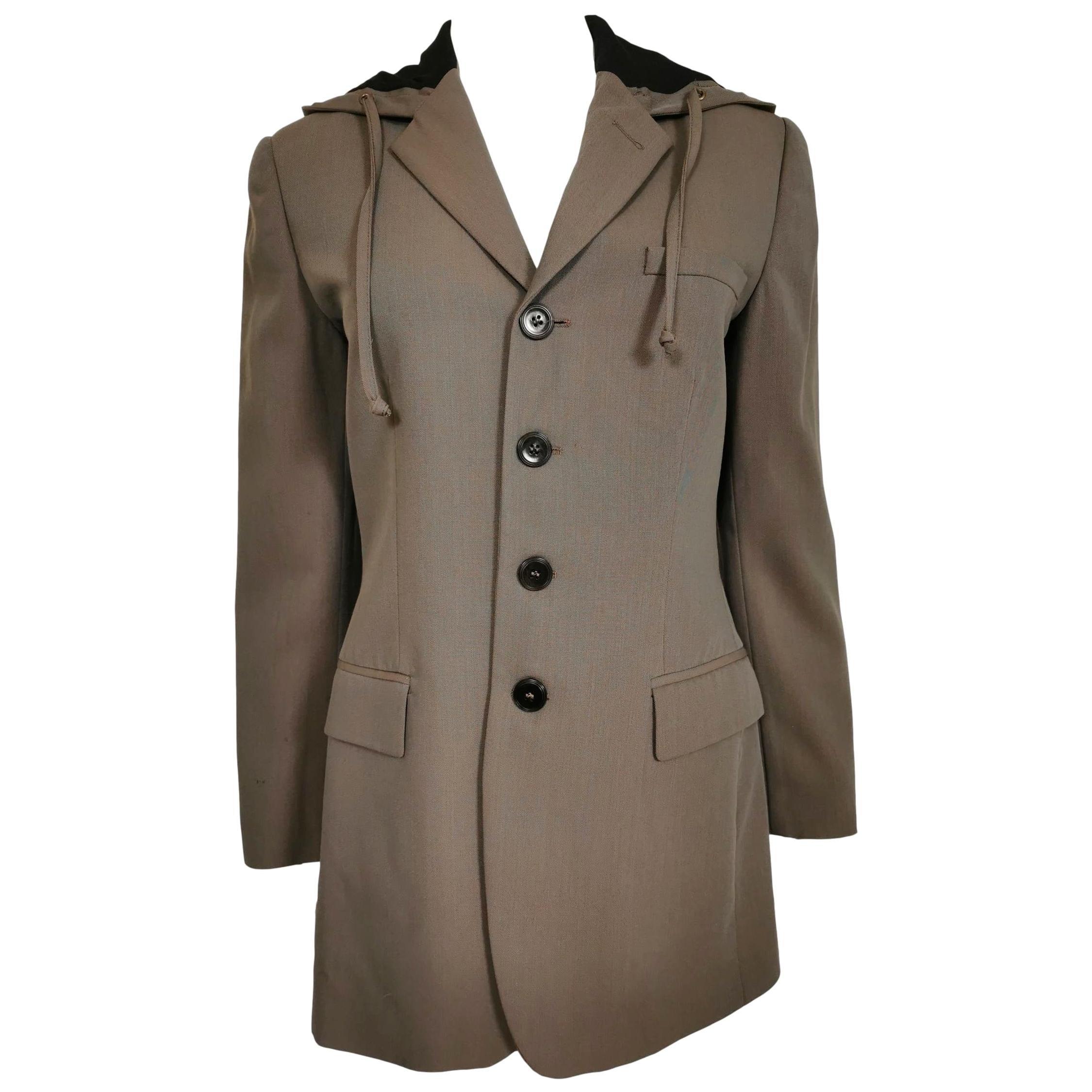 Jean Paul Gaultier Hooded Dress Jacket Autumn/Winter 1998