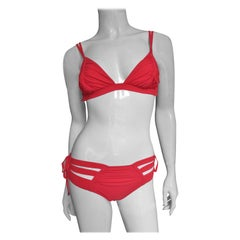 Jean Paul Gaultier New Cut out Lace up Bikini Swimsuit