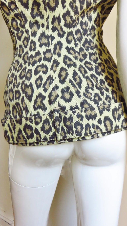 Jean Paul Gaultier New Hourglass Jacket 1980s For Sale 6