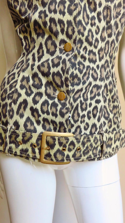 Jean Paul Gaultier New Hourglass Jacket 1980s For Sale 1