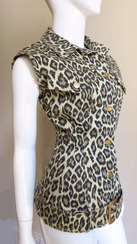 Jean Paul Gaultier New Hourglass Jacket 1980s For Sale 4