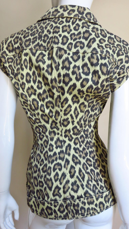 Jean Paul Gaultier New Hourglass Jacket 1980s For Sale 5