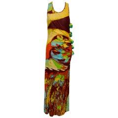Jean Paul Gaultier Pop Art  Pom-Pom Dress From  Runway 2000