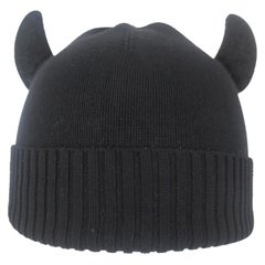 Jean Paul Gaultier 'Rabbi Chic' 1993 Collection Horned Hat