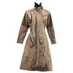 Jean Paul Gaultier Runway Tromp L'oeil Print Coat, Fall 2004