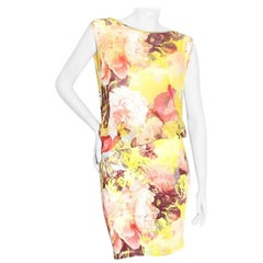 Jean Paul Gaultier S/S 2006 Floral Dress