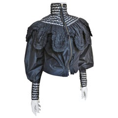 Jean Paul Gaultier Silk Jacket Top 1990s