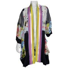 Jean Paul Gaultier Silk Kimono Jacket