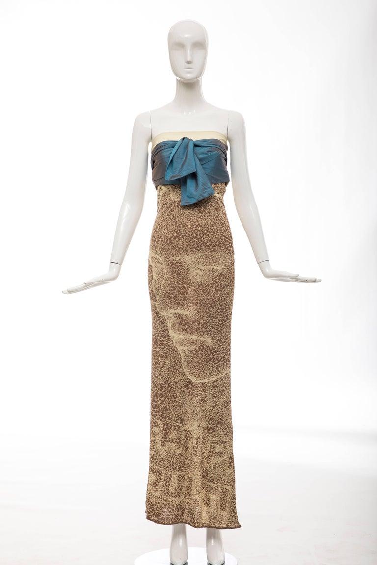 Jean Paul Gaultier, Spring 2001 silk strapless