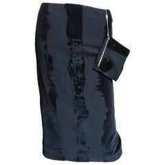 Jean Paul Gaultier Skirt with Chain Attached Pouch 1990s