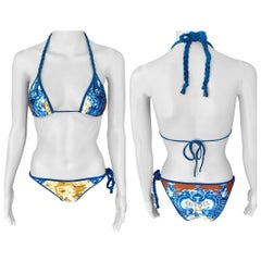 Jean Paul Gaultier Soleil Bikini Swimwear Swimsuit