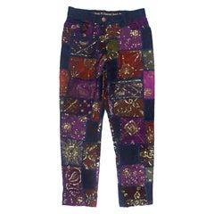 Jean Paul Gaultier SS1999 Sequined Patchwork Pants