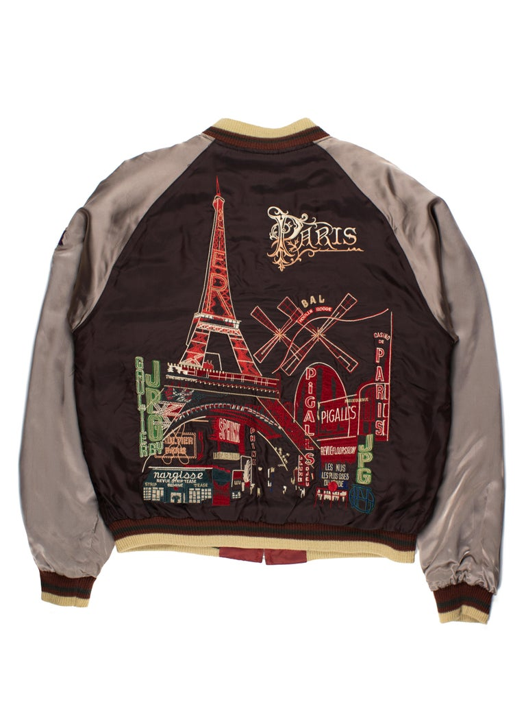 Jean Paul Gaultier SS2001 Embroidered Souvenir Jacket In Good Condition In Beverly Hills, CA