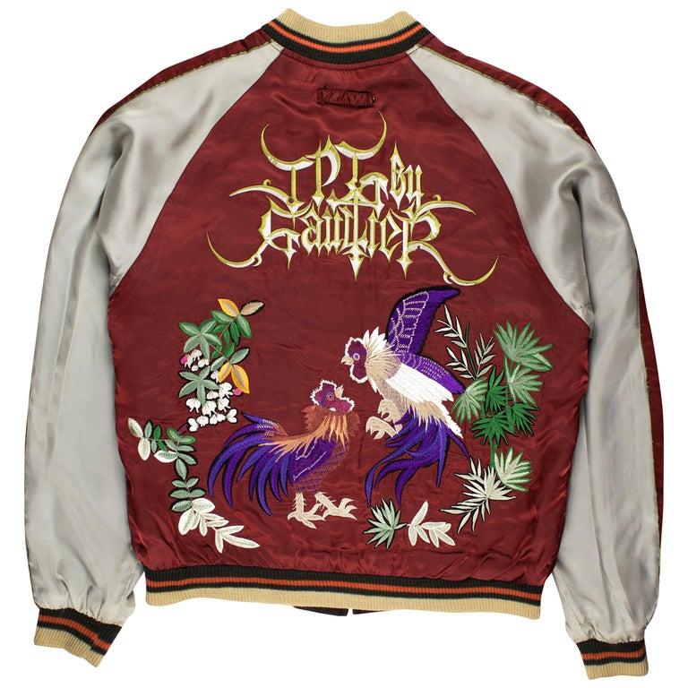 Jean Paul Gaultier SS2001 Embroidered Souvenir Jacket