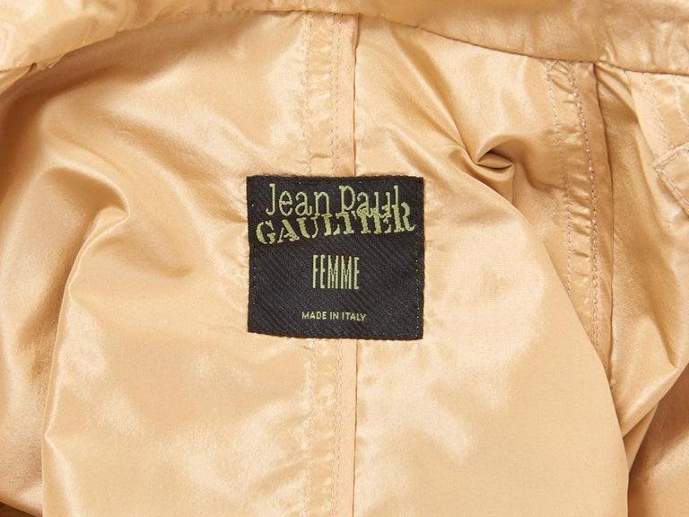 Women's Jean Paul Gaultier Taffeta Trench For Sale