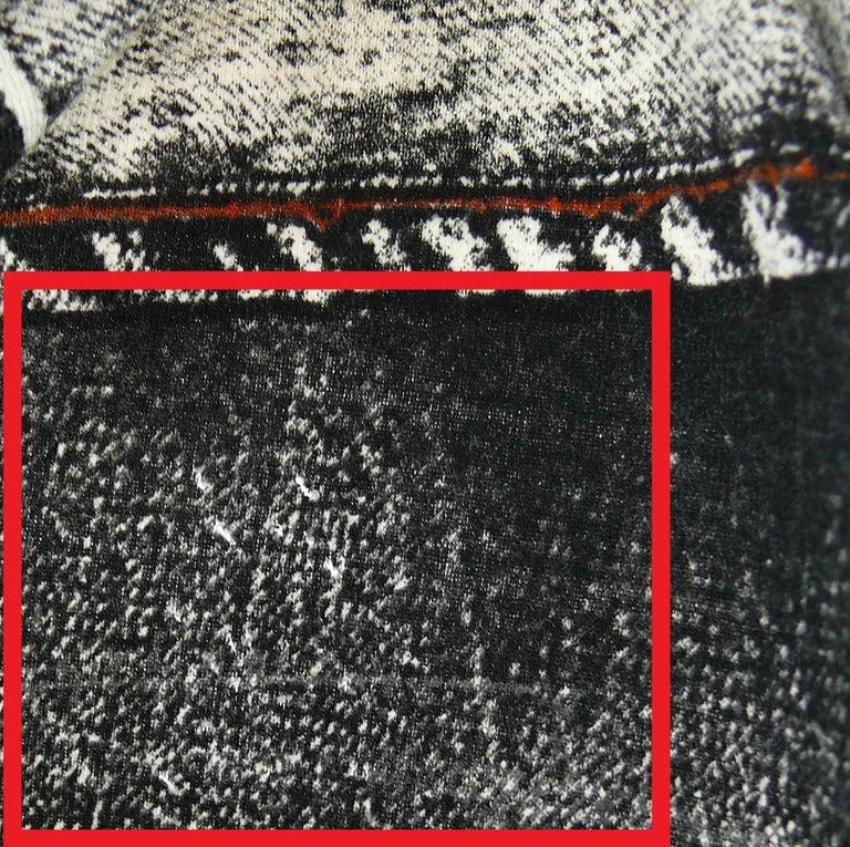 Jean Paul Gaultier Trompe L'oeil Maxi Dress with Detachable Sleeves For Sale 4
