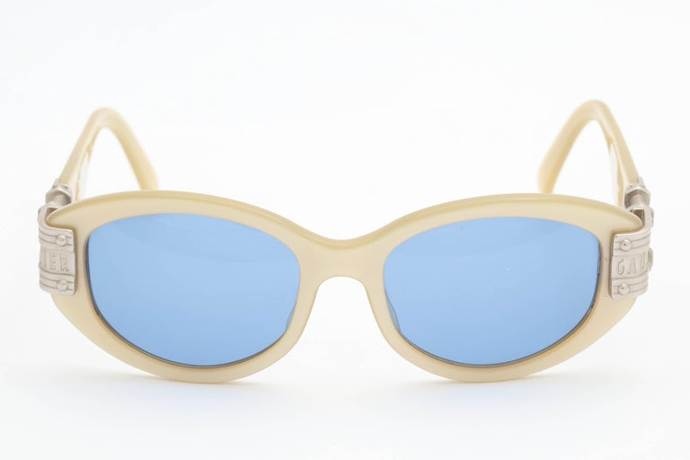Gray Jean Paul Gaultier Vintage 56-5204 Sunglasses