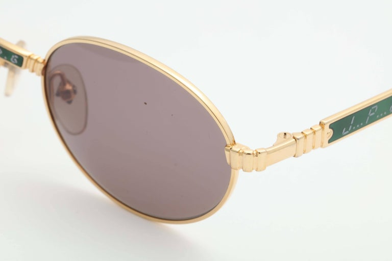 Jean Paul Gaultier Vintage 58-5104 Sunglasses  In Excellent Condition In Chicago, IL