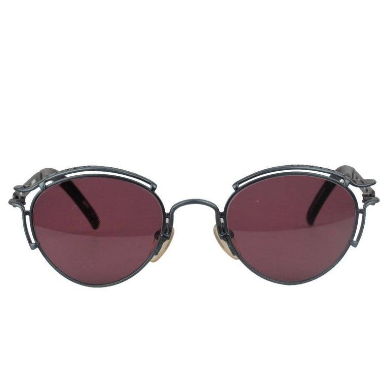 JEAN PAUL GAULTIER Vintage Blue Sunglasses 56-5102