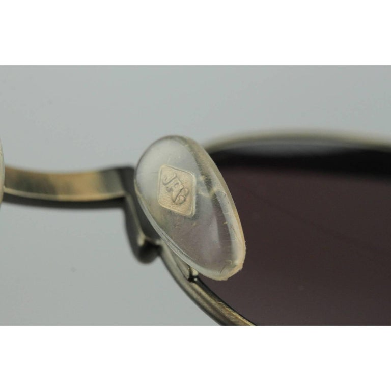 Jean Paul Gaultier Vintage Bronze Sunglasses JET 56-4175   For Sale 7