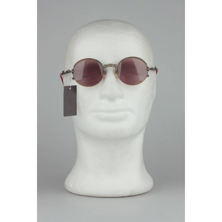 Gray Jean Paul Gaultier Vintage Bronze Sunglasses JET 56-4175   For Sale