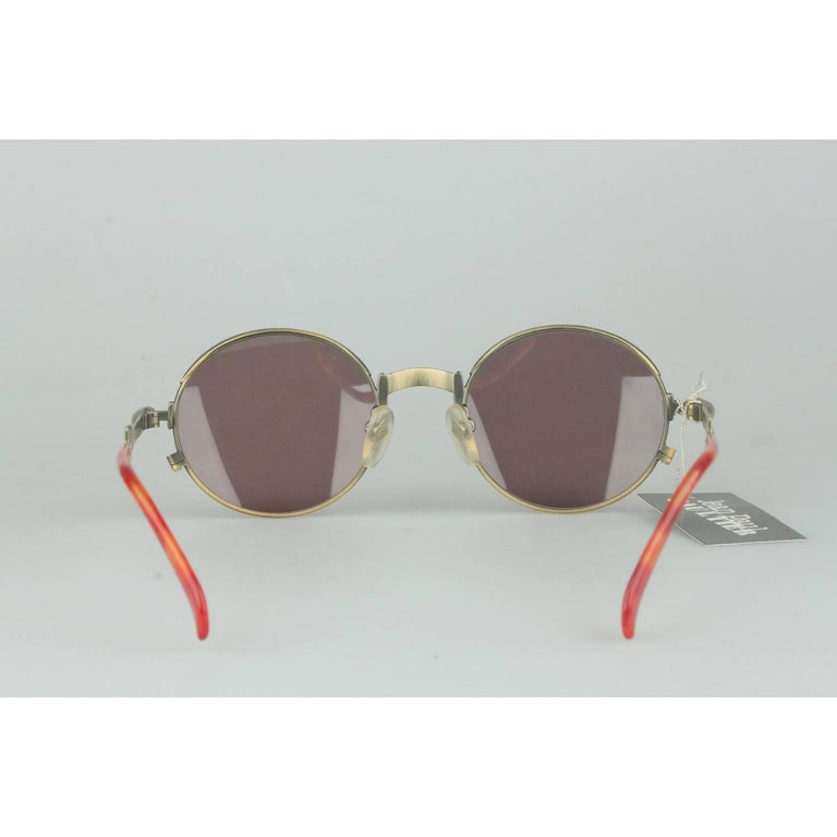 Women's or Men's Jean Paul Gaultier Vintage Bronze Sunglasses JET 56-4175   For Sale